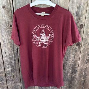 1980s Sorbonne Universite de Paris shirt France